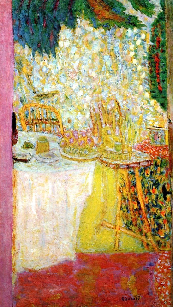 The Open Door Pierre Bonnard 1937