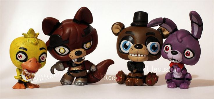 FNAF characters as LPS customs by pia-chu on DeviantArt