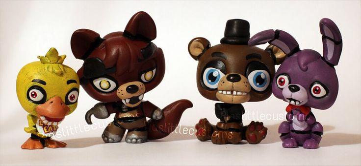 Five Nights At Freddys Custom Lps SOOOOOO Cuuuute I Want Soooo