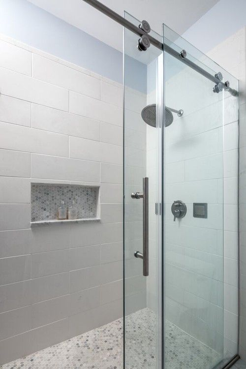Simple Bathroom Renovation with Walk-in Shower. Designed by Skokie renovation firm, Chi Renovations & Design. They serve the Chicagoland area, and it's surrounding suburbs, with an emphasis on the North Side and North Shore. You'll find their work from the Loop through Lincoln Park, Skokie, Evanston, Wilmette, and all of the way up to Lake Forest.