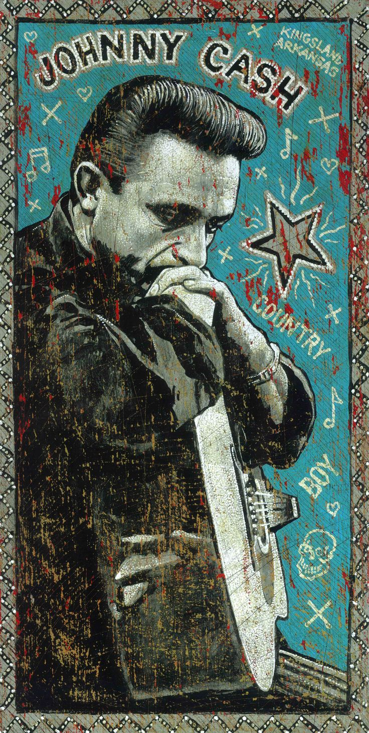 Another stunning image by artist and musician Jon Langford, who has very kindly given us permission to use it to publicise our Johnny Cash: Songwriter concert. http://jonlangford.de  http://www.horsecross.co.uk/whats-on/2012/jul/27/johnny-cash-songwriter-68468/