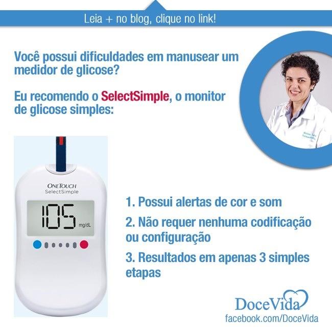 Deixe seus testes de glicose mais fáceis usando o medidor