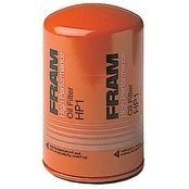 Fram HP1 High Performance Spin-On Oil Filter, Silver steel