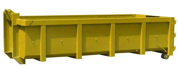 EUR 579 incl Afvalcontainer 15 m³ - dimensions = L: 600 cm x B: 250 cm x H: 145 cm