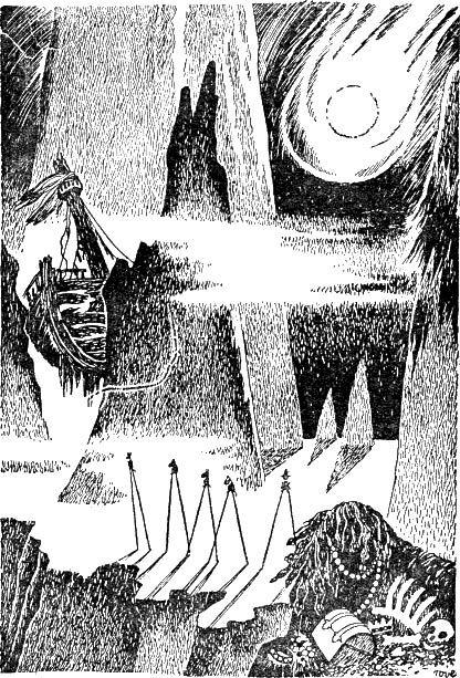 Tove Jansson illustration