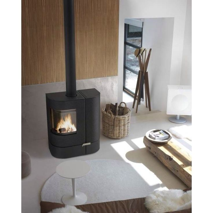 Here is a unique stove from invicta, the most revered manufacturer in France. It can use wood pellets or logs, with it's built in hopper. Fresh air intake 100mm. Depth 463mm. Weight 252kg. | eBay!