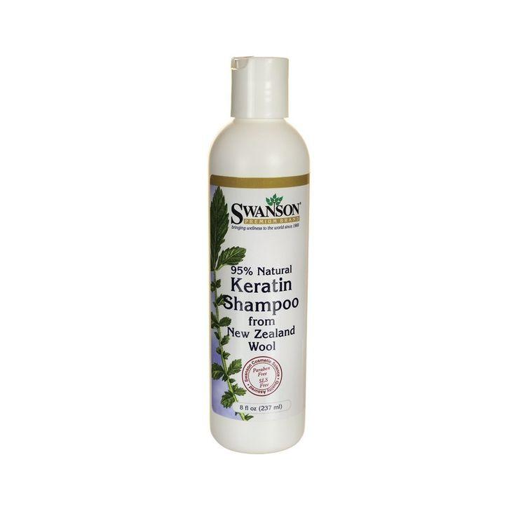 Swanson Premium Keratin Shampoo, 95% Natural 237ml