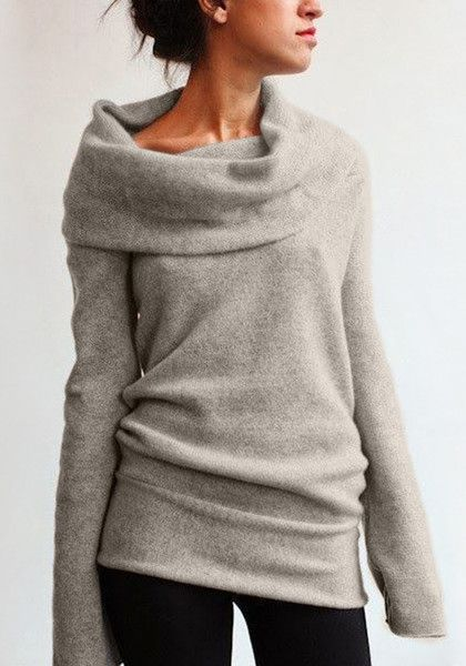 When Its Cold Outside Wrap Yourself In This Almond Cowl