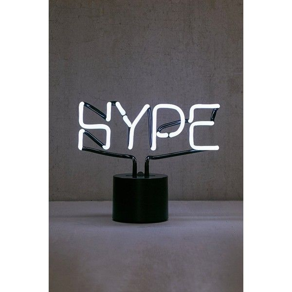 Hype Neon Desk Lamp ($79) ❤ liked on Polyvore featuring home, lighting, desk lamps, neon wall lights, wall mounted desk lamp, cord lights, wall-mount lamp and neon color lights