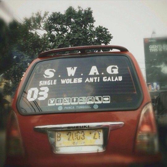 SWAG: Single Woles Anti Galau