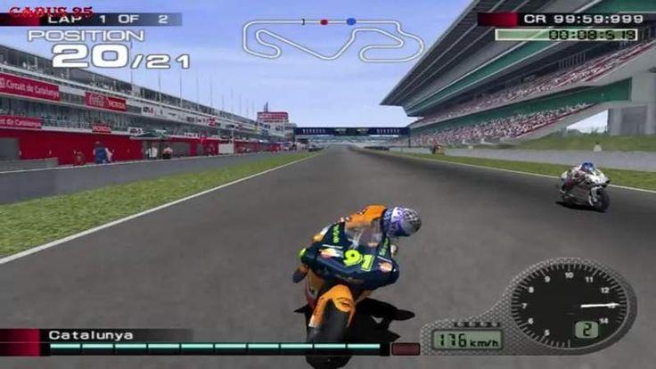 MotoGP 4 PS2 Game...