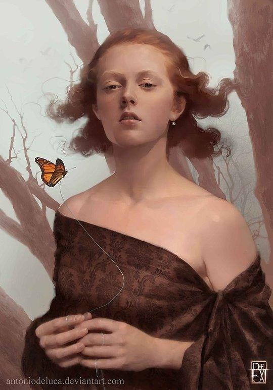 Beautiful Illustrations by Antonio de Luca