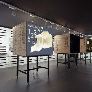 exposition Viparis Porte de Versailles - l'exposition universelle permanente http://www.scenographe-etc.com/news/
