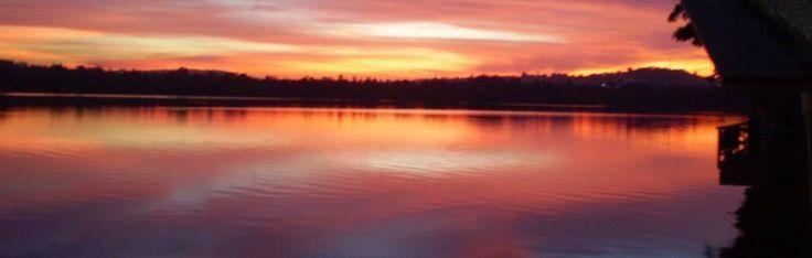 Lovely sunset tonight ...