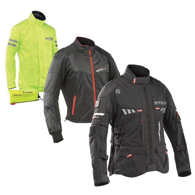 The RAINFOREST WINDSTOPPERjacket is the ideal touring jacket for your spring and autumn travels. The inner HYPERLITE WINDSTOPPER jacket, made of lightweight Ripstop material, protects from wind, while the RAINJACKET keeps out the rain.