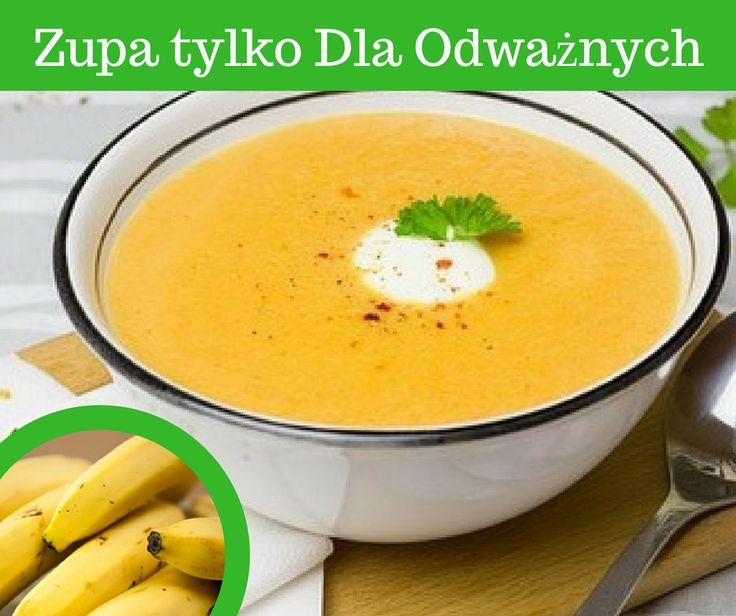 TA Pikantna Zupa jest tylko dla odważnych >> http://www.mapazdrowia.pl/przepisy/pikantna-zupa-bananowa/
