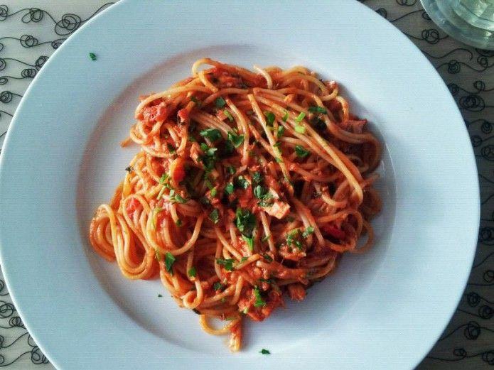 Pasta Puttanesca, Jamie Oliver