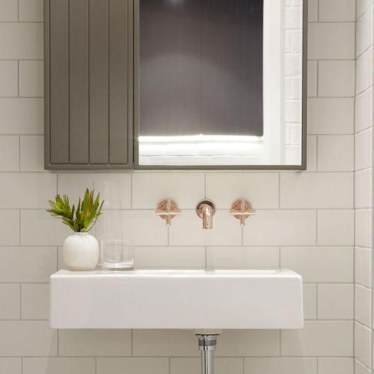 274 besten Bathroom Project Bilder auf Pinterest Lampen leuchten - badezimmer garnitur set