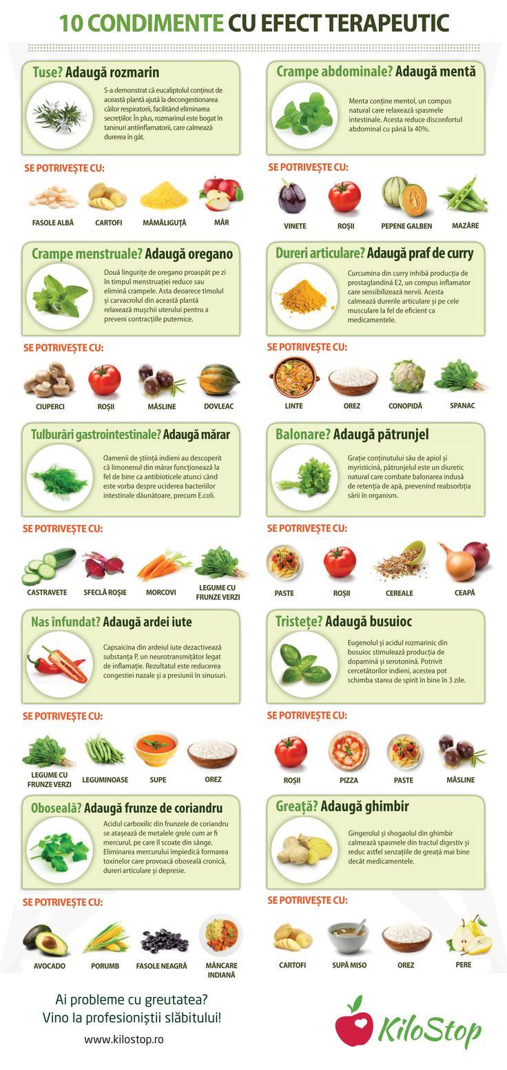 Tușești, ți-e greață sau ai nasul înfundat? Iată ce condimente te ajută să scapi de orice disconfort: #condimente