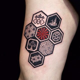 japanese hexagon - Google Search