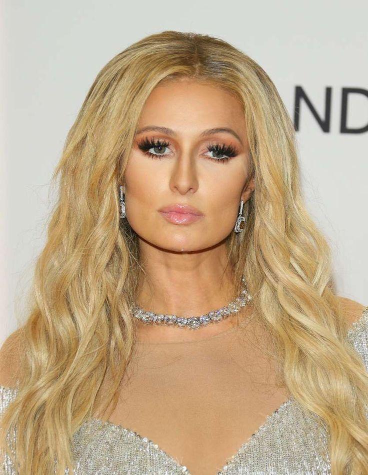 Le make-up ultra chargé de Paris Hilton - Glamour