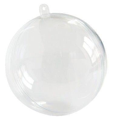 Boule transparente plexi BOULTR : 1001 deco table : decoration table, decoration mariage, decoration bapteme et deco pour table anniversaire...