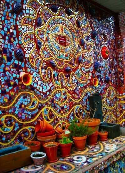 Ber ideen zu eierschale mosaik auf pinterest eierschale mosaik und mosaikkunst - Wand mit mosaik gestalten ...