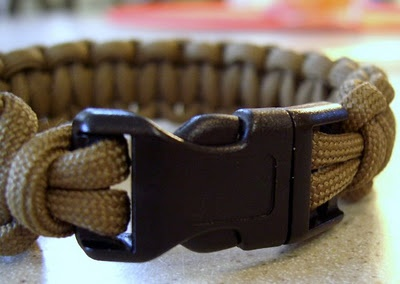 Attaching a buckle
