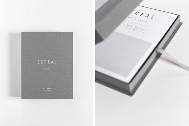 BEELDSTEIL.com Cereal Magazine X Agnes Martin | The cover of Cereal magazine is always beautiful and intriguing. This version is particularly special..