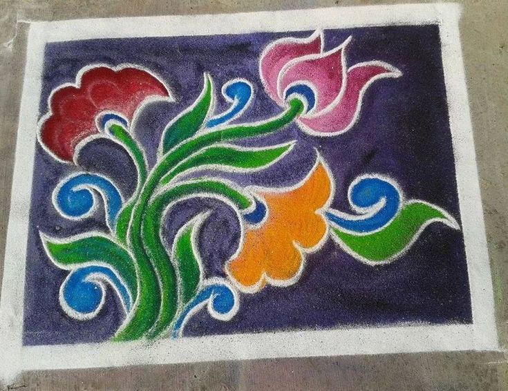 Simple and Easy Rangoli Designs