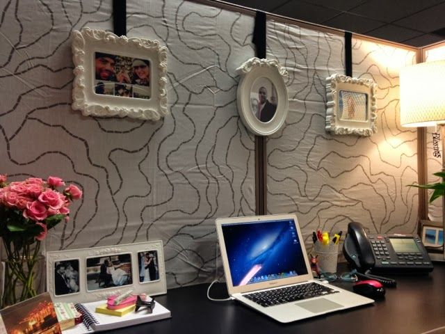 A Makeover | Ideas For Home | Pinterest | Cubicle, Cubicle Makeover And  Office Spaces