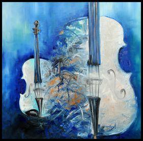 Blue Sounds by Mihaela Ionescu