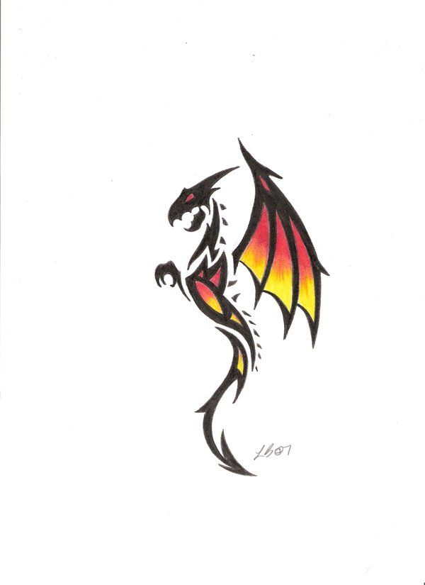 25+ best ideas about Tribal dragon on Pinterest | Dragons ...
