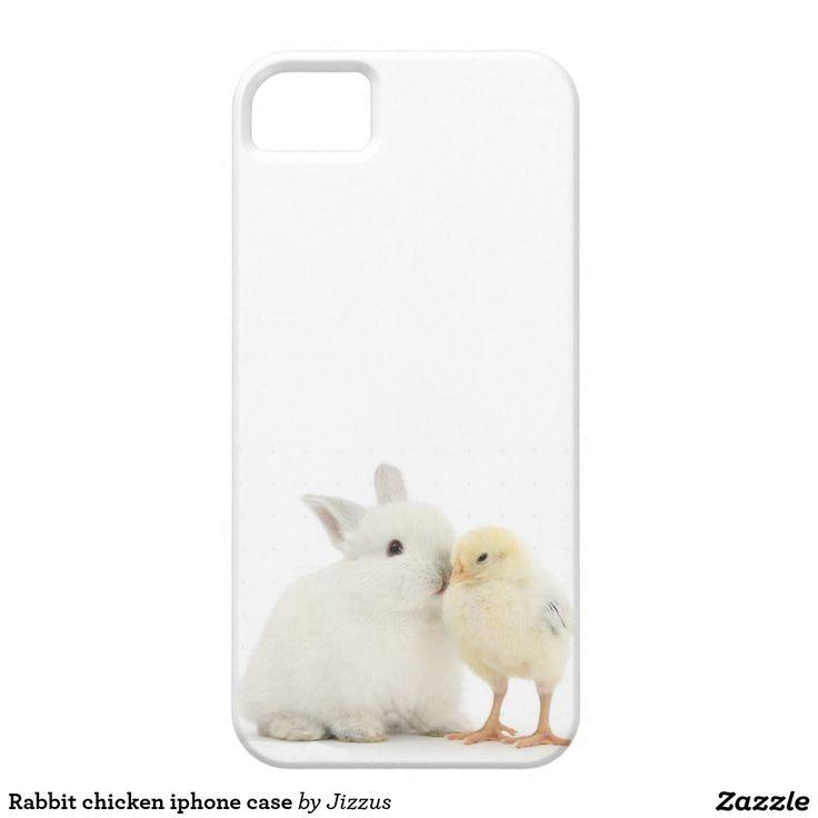 Rabbit chicken iphone case