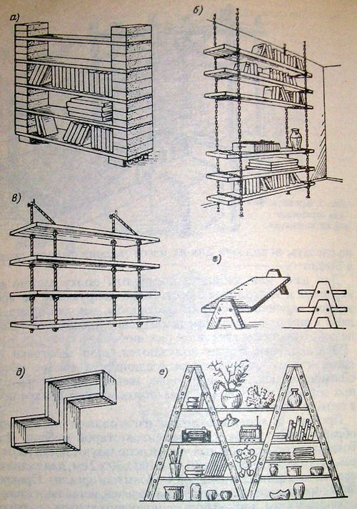 оригинальная мебель своими руками