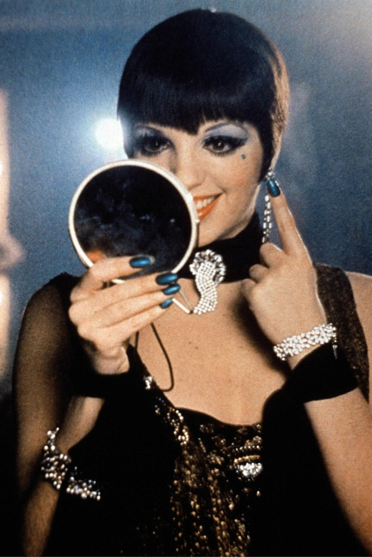 Liza Minnelli in Cabaret (1972). Note the green nails.