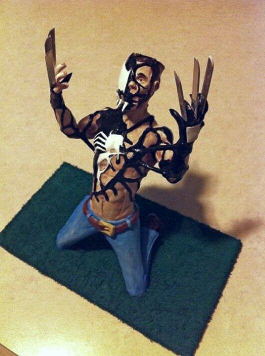 Symbiote taking Wolverine-00