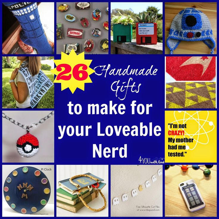 139 best DIY Christmas gifts for geek, nerd, kawaii, fandom lovin ...