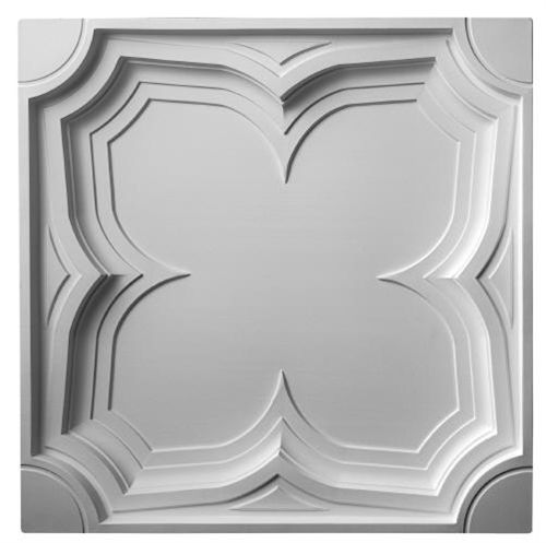 With traditional Gothic motif, this traditional ceiling tile is suitable for both Tudor and Gothic inspired interiors.