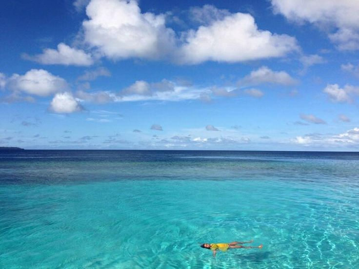 Clear Crystal water Maratua Island