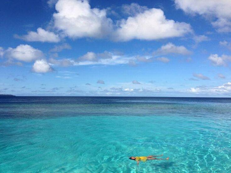 Clear Crystal water Maratua Island