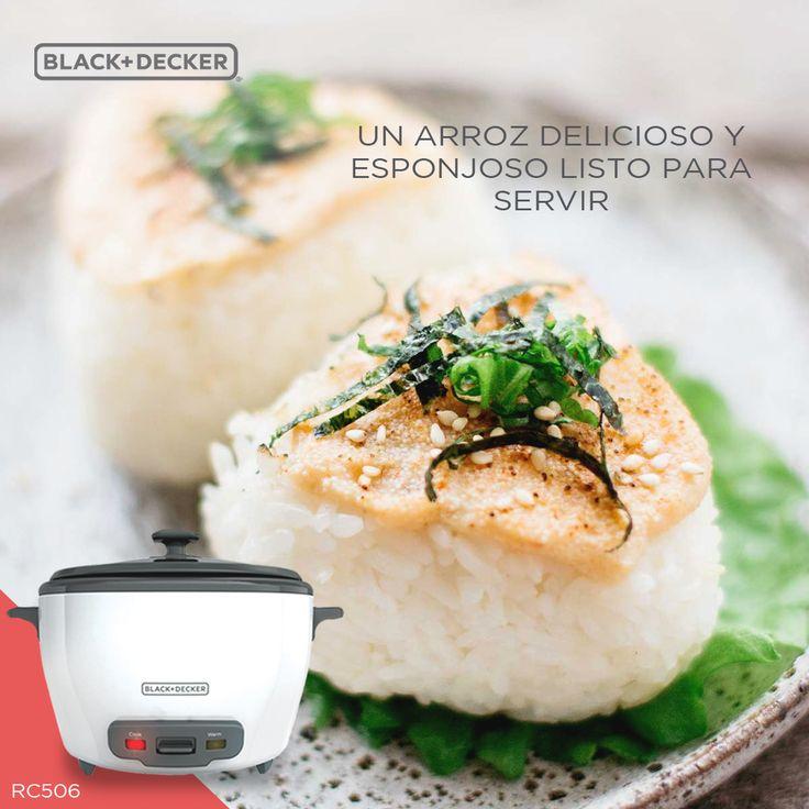 """Comparte y disfruta de un """"Onigiri de Salmón"""" al llegar a casa. Arrocera RC506, la cómplice perfecta para un arroz más delicioso y esponjoso en 20 minutos. #RutaDelSabor #EverydayLiving"""