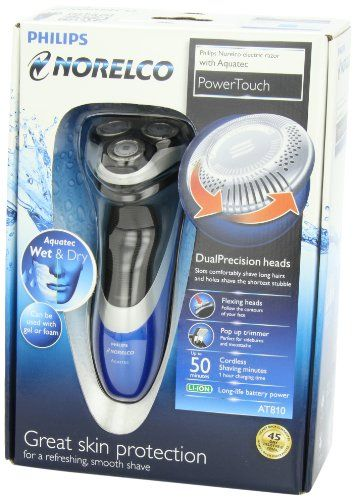 Philips Norelco AT810 Powertouch with Aquatec Electric Razor | Multicityhealth.com  List Price: $59.95 Discount: $0.00 Sale Price: $59.95