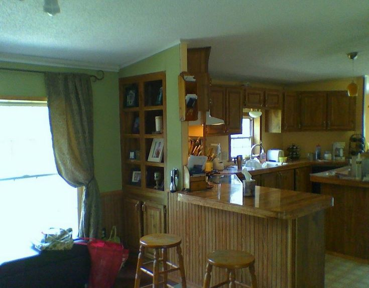 Double Wide Mobile Homes Interior | Interior Updates Included New Paint ,  Kitchen Back Splash,