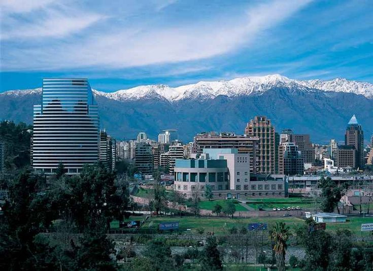 I present my city... Santiago De Chile