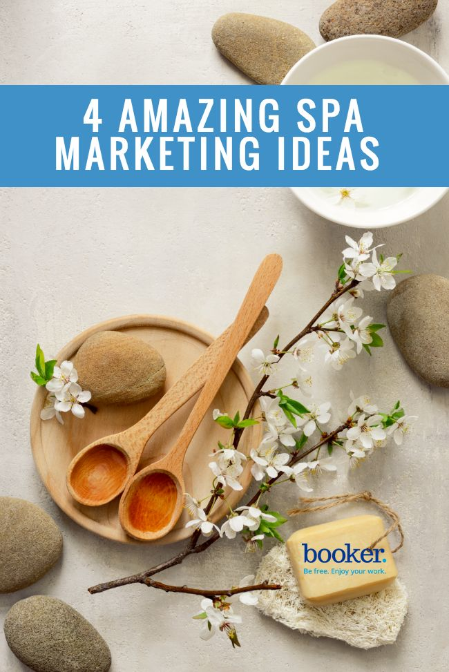 Marketing your spa doesn't need to be difficult! Here are 4 marketing ideas for local spa owners to use for keeping profits all the way up well after summer has ended.
