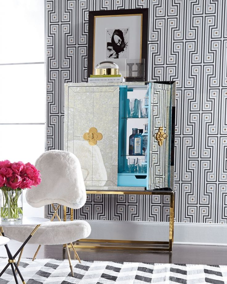 The sparkle factor- Mirrored furniture and one amazing sale! - The Enchanted Home