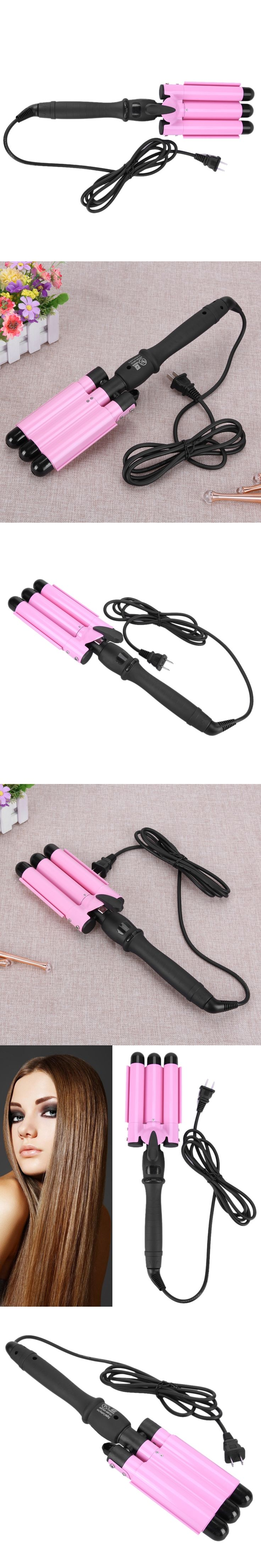 25MM Heat Conductor Hair Curling Iron Waver Straight Curly Hair Style Curls Tool Curling Wave Machine Hair Curlers Rollers Irons