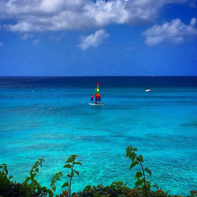 Winter blues look a little different in Barbados. Photo courtesy of fvlifestyle on Instagram.