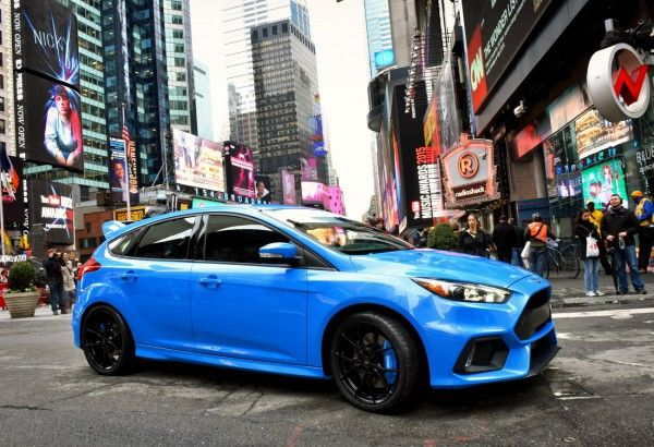 Focus Rs Ford Makes The Numbers Speak Ford Focus New Ford Focus Focus Rs
